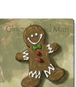 giclee gingerbread man