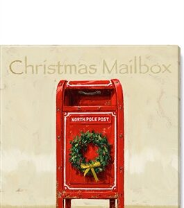 giclee mailbox red