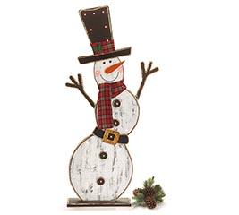 lighted snowman 48
