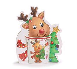 xmas reindeer mug pack