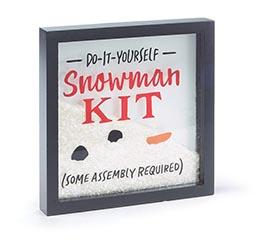 xmas snowman kit