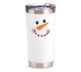 xmas snowman tumbler