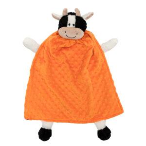 critter cutout cow orange