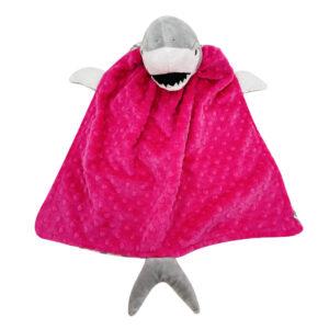 critter cutout shark pink