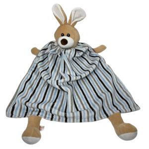 critter cutout stripe bunny